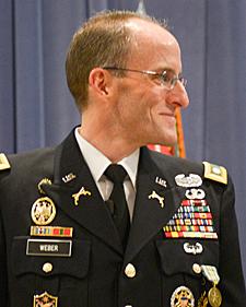 Lt. Col. Mark Weber