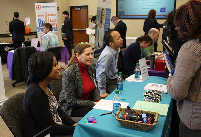 The April 2015 Career Expo at Minneapolis Community & Technical College.