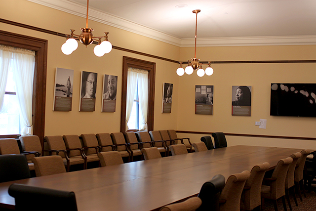 There are now three conference rooms on the third floor of the Capitol