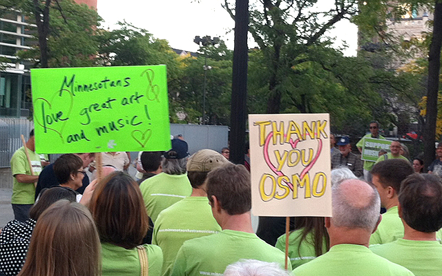 MN Orchestra Oct. 1 rally