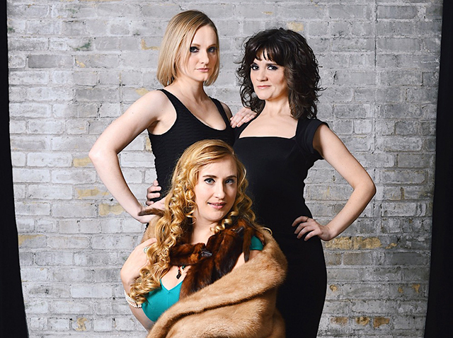 Emily Bridges, Jane Froiland and Sara Marsh