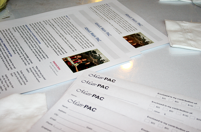 Maiv PAC committee members sent candidates 100 questions