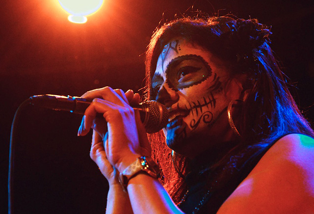 Singer/rapper Maria Isa to perform at the Festival de las Calaveras Concert.