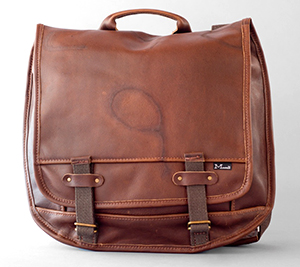 Marked Leather bag