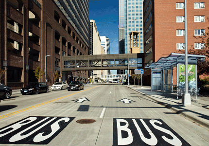 Minneapolis' Marquette-2nd Bus Lane project