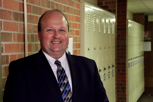 District Superintendent Matt Hillmann