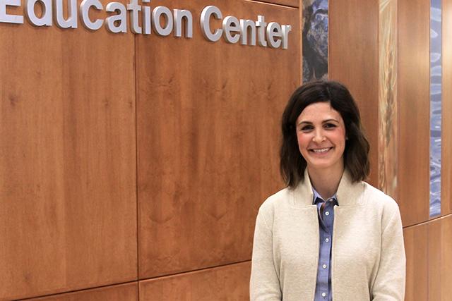 Megan McAllister, the district's human resources supervisor