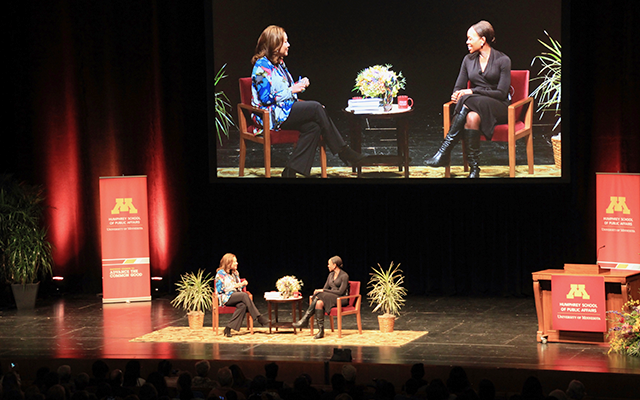 Michele Norris interviewing Margot Lee Shetterly