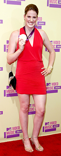 Olympic gold medal swimmer Missy Franklin