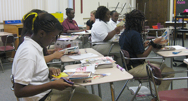 Minneapolis College Preparatory School students