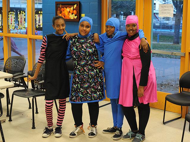 Sportswear for Muslim girls in Minneapolis