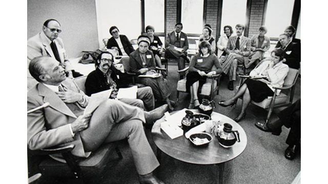 NAMI-Minnesota meeting with then-Gov. Al Quie