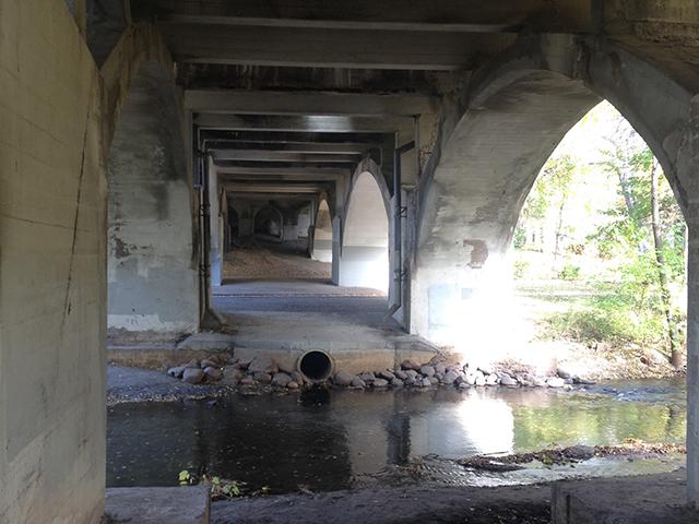 Nicollet Avenue bridge