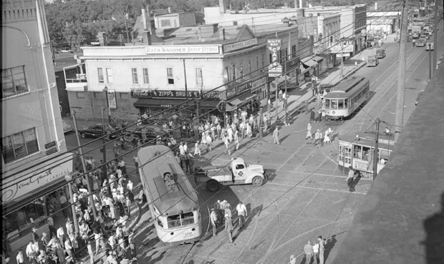 Nicollet Ave. and Lake Street 1951