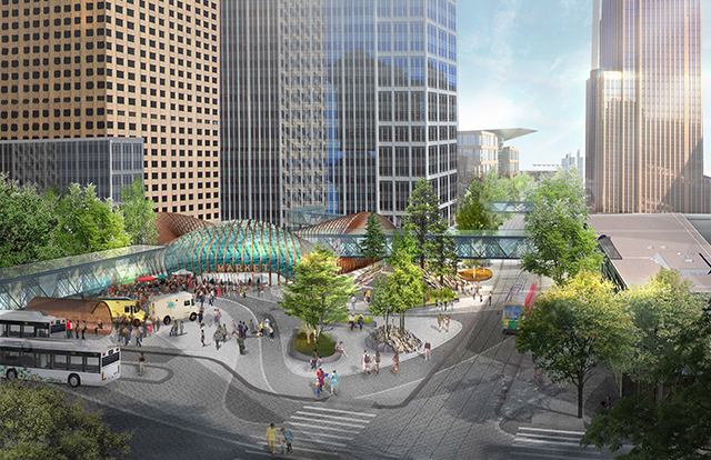 Nicollet Mall redesign proposal