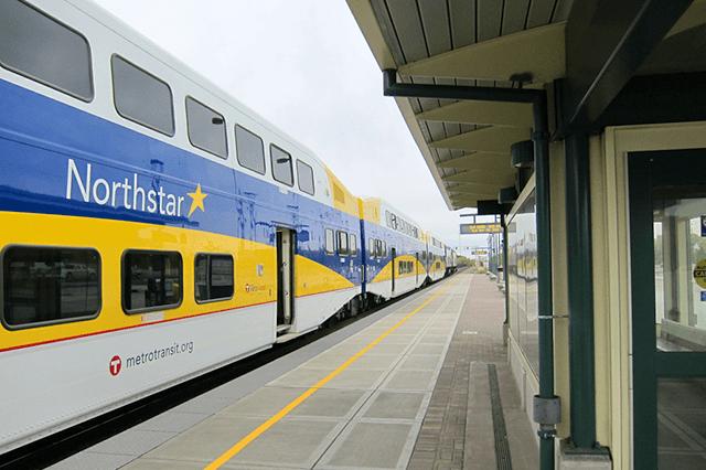 The Northstar station in Elk River.