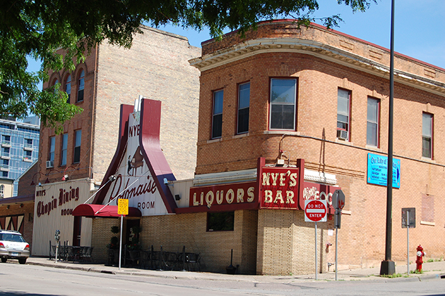 The former Nye's Polonaise Room shown in a photo from 2014.