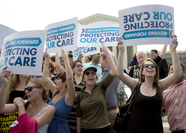 ObamaCare supporters