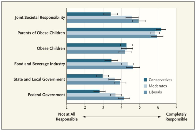 Obesity Responsibility Chart