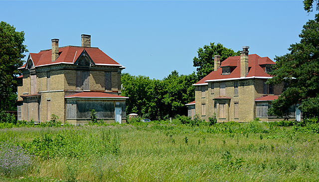 Officers Row, Fort Snelling