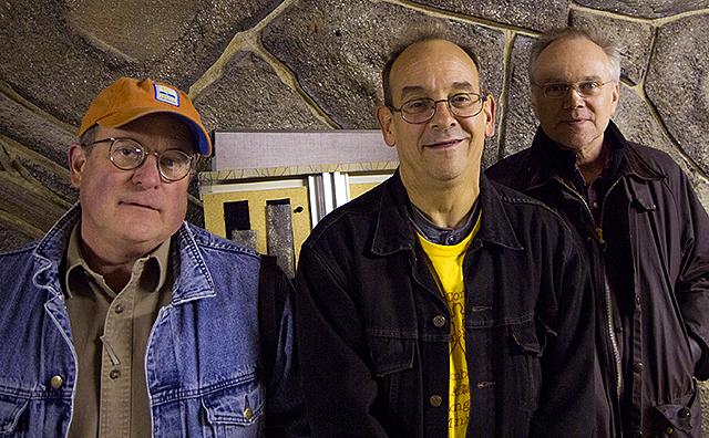 Chris Osgood, Terry Katzman and Dave Ahl