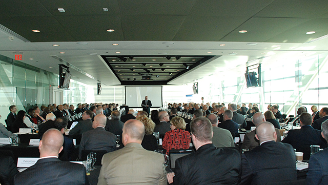 The annual PERF meeting was held at the Newseum in Washington