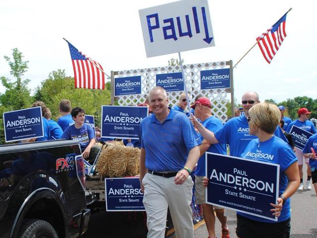 Paul Anderson, Republican Senate District 44 candidate