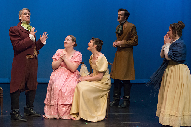 "Aethem Theatre Company presents ""Jane Austen's Persuasion"""