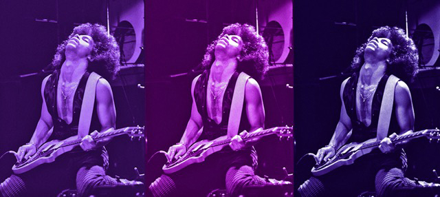 Greg Helgeson's photos from Prince's first solo concert