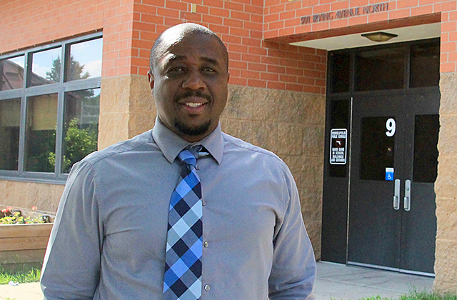 Principal Nathan Hampton