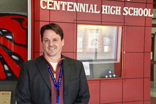 Principal Tom Breuning