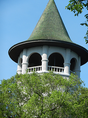 Prospect Park Witch's Hat water tower