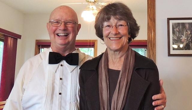 Don Quaintance and former state legislator Becky Lourey