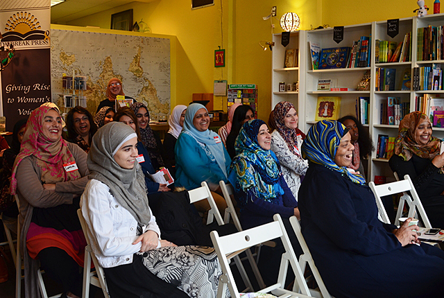 RISE organizes engagement trainings and discussions featuring Muslim women who a