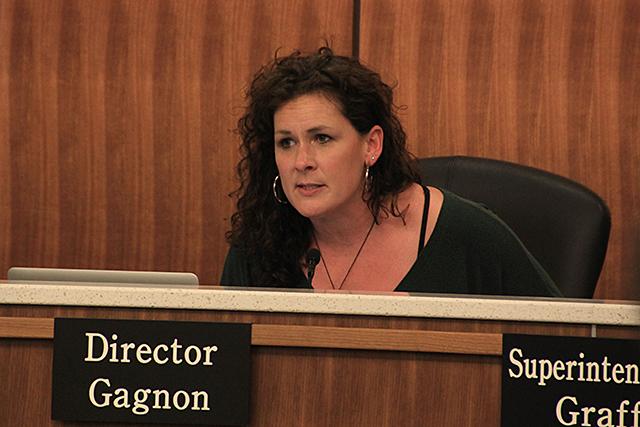 Board Chair Rebecca Gagnon