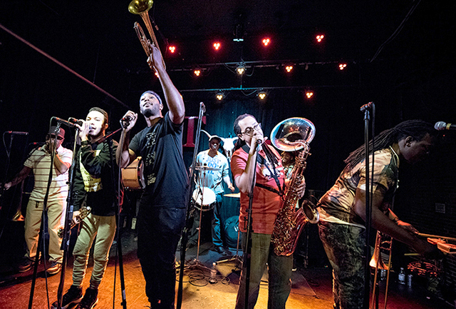Rebirth Brass Band will perform tonight and tomorrow at the Dakota.