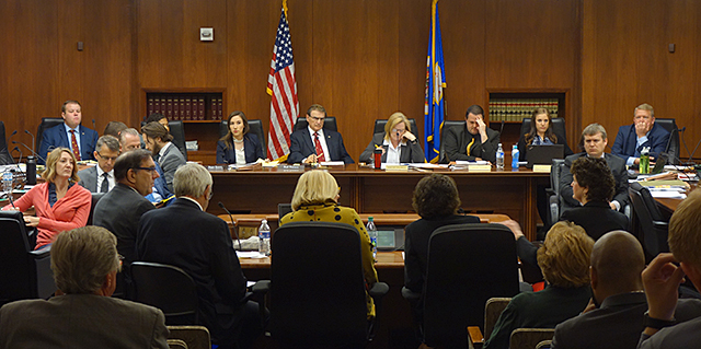 joint meeting of the Minnesota House and Senate higher education committees