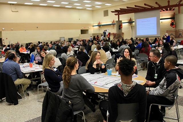 Participants in the Reimagine Minnesota meetings came from three districts