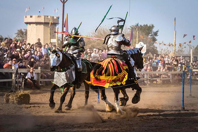 Renaissance Festival jousters