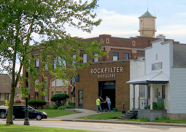 RockFilter Distillery is located in an old creamery in Spring Grove.