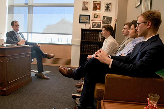 Meeting with Sen. Ron Latz