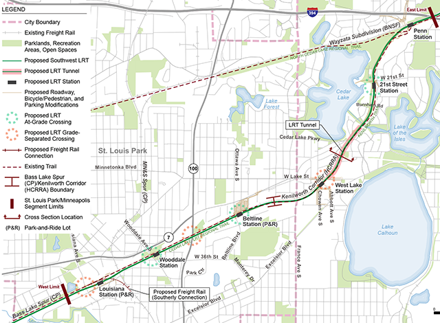 Overview of the St. Louis Park/Minneapolis Segment
