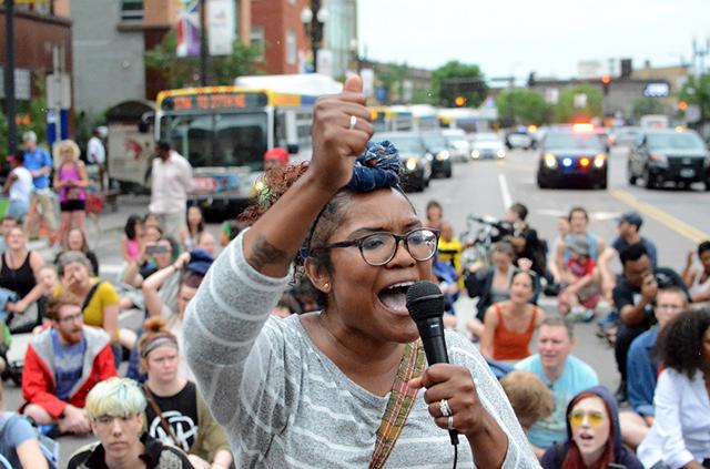 Minneapolis city council candidate Samantha Pree-Stinson