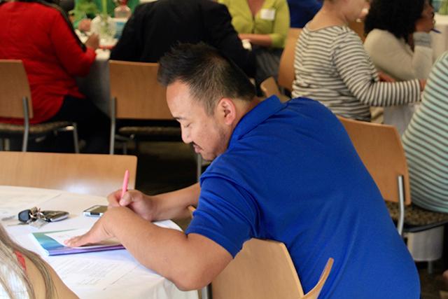 Sambath Ouk, EL coordinator at Faribault Public Schools