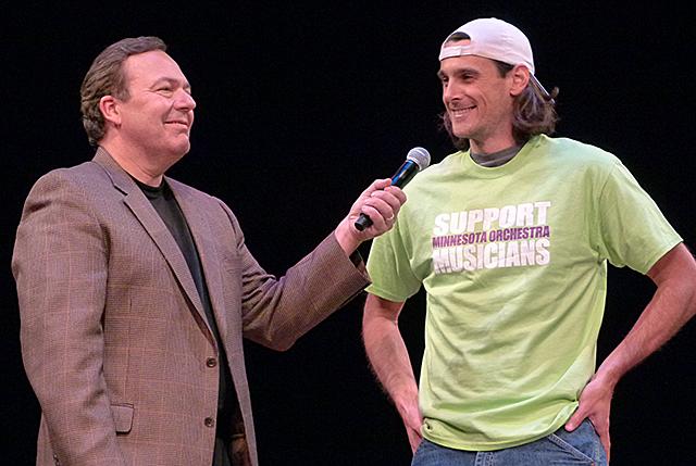 Joe Schmit and Chris Kluwe