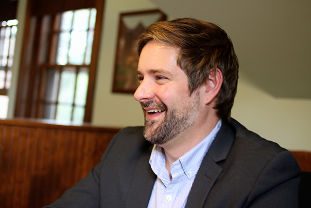 Sean Ryan, current president of the 1006 Summit Avenue Society