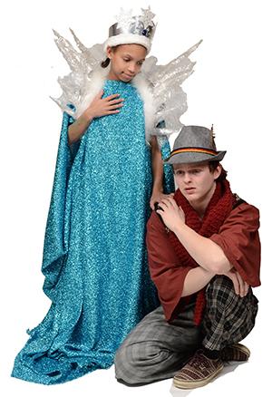Calonna Carlisle as the Snow Queen and Theo Emo as Kai