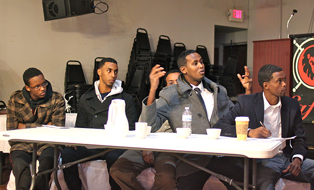 Somali community activists