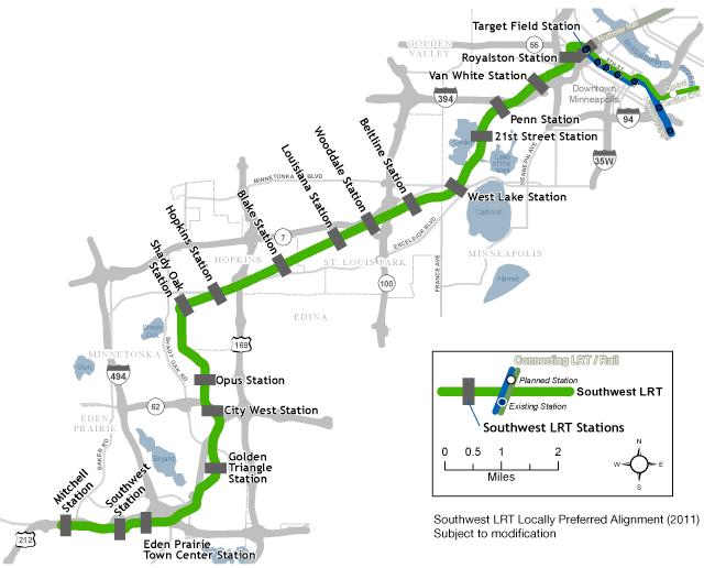 Southwest LRT LPA