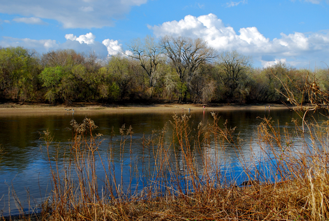 Minnesota River near Fort Snelling, Minneapolis